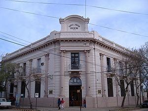 Colón, Entre Ríos - Colón branch of the National Bank.