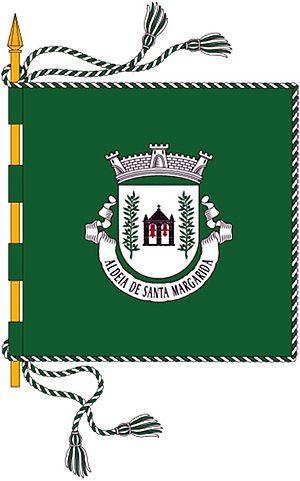 Aldeia de Santa Margarida - Image: Bandeira ASM