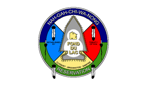 Fond du Lac Band of Lake Superior Chippewa - Tribal flag