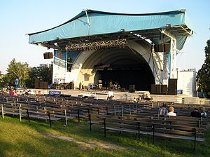 Canadian National Exhibition - Historic Bandshell stage