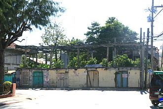 Bantayan, Cebu - Derelict once-grand homes on Bantayan island