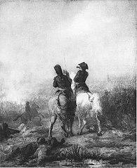 Anno 1794.De erfprins van Oranje behaalt de overwinning bij Fleurus