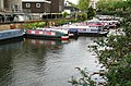 Barges on the Regent's Canal NW8 - geograph.org.uk - 1286776.jpg