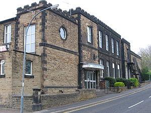 Barrow Hill, Derbyshire - Image: Barrow Hill Memorial Club