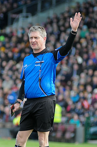 Barry Kelly (referee) - Barry Kelly refereeing Galway v Kilkenny in the 2015 National Hurling League