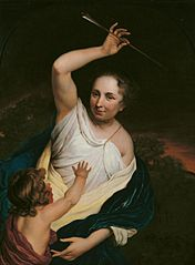 Venus punishing Cupid