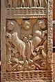 Bas-relief - West Face - Bottom - South Pillar - West Gateway - Stupa 1 - Sanchi Hill 2013-02-21 4319.JPG