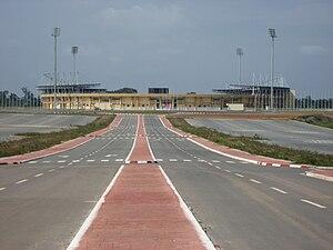 Estadio de Bata -  Stadium in 2010