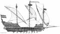 Bateau (Chebbek) de l'armada navale algérienne au XVIème siècle.png