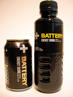 Battery Energy Drink-can-bottle