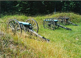 Petersburg National Battlefield - Battery XVI in the Main Unit