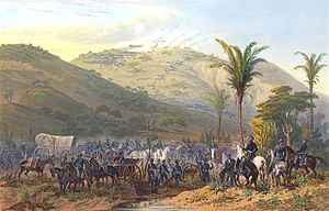 Battle of Cerro Gordo - The Battle of Cerro Gordo by Carl Nebel.