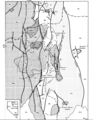 Battle Mountain Geology Map
