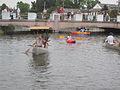Bayou St John 4th of July Big Leaf Boat Got Shade.JPG