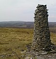Beacon on Oxnop Common - geograph.org.uk - 1276664.jpg