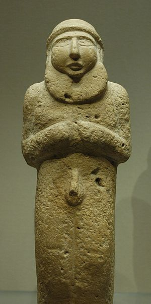 istorija - Istorija umetnosti 300px-Bearded_man_Uruk_Louvre_AO5718