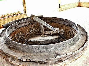 Beaudéduit - Old cider press, located in the local church