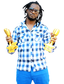 Bebe Cool at HiPipo Music Awards 2014 Artist of The Year.png