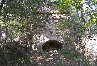 National Register of Historic Places listings in Hays County, Texas - Image: Belger Cahill lime kiln 2008