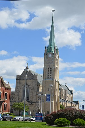 Cathedral of Saint Peter (Belleville, Illinois) - Image: Belleville St. Peter's Cathedral