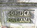 Bellombra, ponte, dettaglio scritta (Adria, Italy).JPG