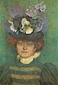 Belmiro de Almeida - Retrato de Mulher com Chapéu de Flores (Paris), 1897.jpg