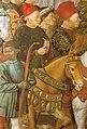 Benozzo Gozzoli, cappella dei magi, Cosimo de' Medici and Carlo de' Medici.jpg