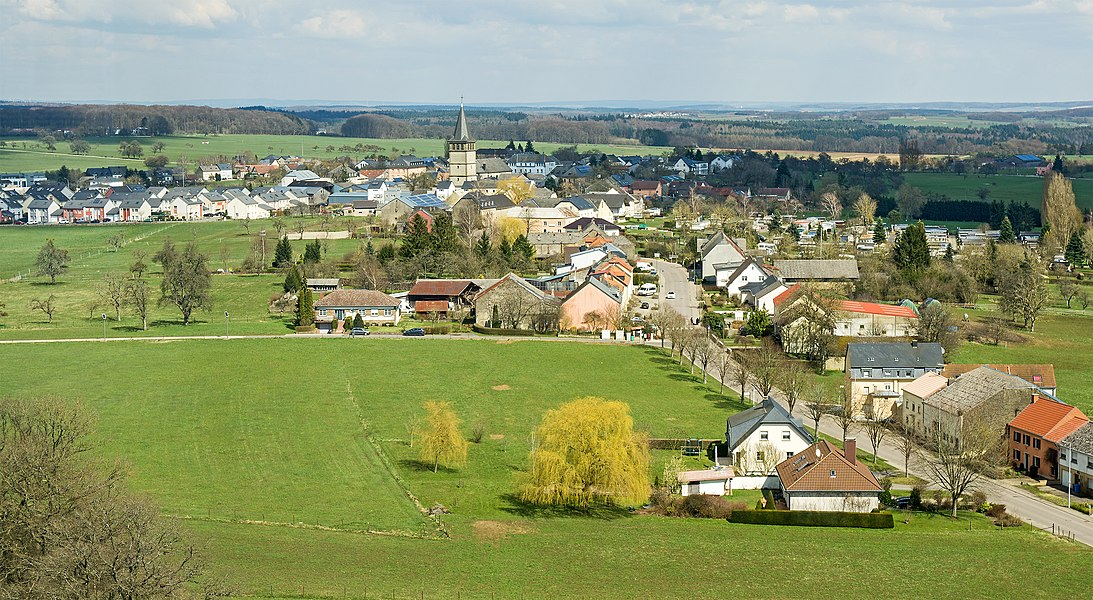 Panorama of Berdorf (seen from Aquatower)