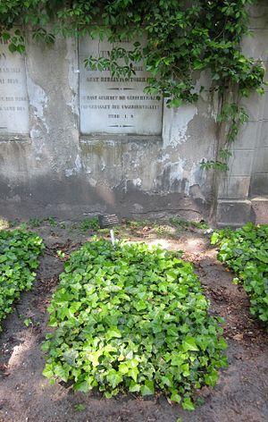 Karl Twesten - Twesten family grave at the Cemetery I of Trinity Church on Mehringdamm in Berlin-Kreuzberg.