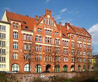 Berlin, Mitte, Engeldamm 62-64, Gewerkschaftshaus.jpg