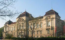 Hoofdgebouw van de universiteit van de kunsten berlijn