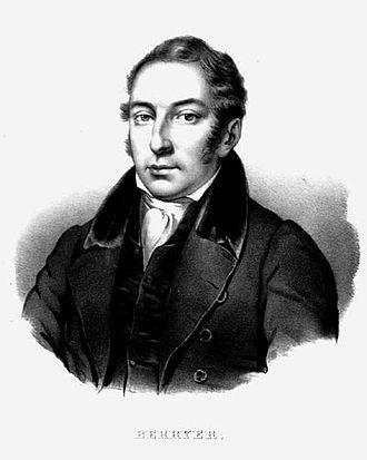 Pierre-Antoine Berryer - Illustration of Berryer (c. 1820)