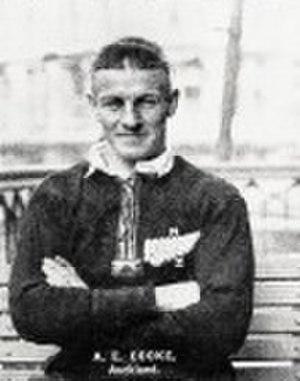 Bert Cooke (rugby) - Cooke, 1924.
