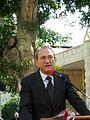Bertrand Delanoë in The inauguration ceremony renovation Paris Square in Haifa (8).jpg