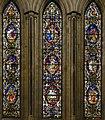 Beverley Minster, SW transept, lower south windows (23778931239).jpg