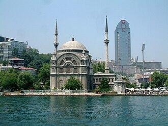 Bezmiâlem Sultan - Dolmabahçe Mosque of Bezm-î Âlem Valide Sultan.