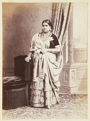 Bharani Thirunal Lakshmi Bayi - Image: Bharani Thirunal Lakshmi Bayi 1885