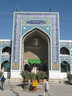 Bibi Shatia Moque and mausoleum - Nishapur 49.JPG