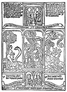 <i>Biblia pauperum</i> tradition of pictorial Bibles