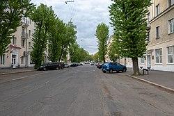 Bierascianskaja Street (Minsk, Belarus) — Вуліца Берасцянская (Мінск, Беларусь) — Улица Берестянская (Минск, Беларусь) p02.jpg