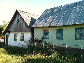 Berzasca - Image: Bigar village houses