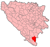 Bileca Municipality Location.png