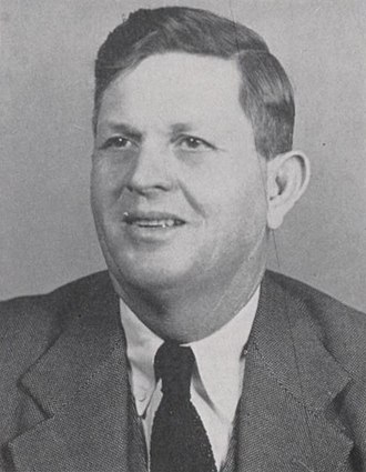 Bill Henderson (coach) - Henderson from the 1950 Round-Up