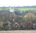 Billingford Mill dwarfing the surrounding houses - geograph.org.uk - 1769212.jpg