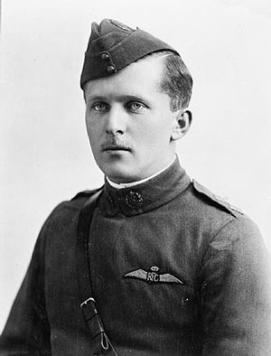 Billy Bishop - Lieutenant Billy Bishop c.1917