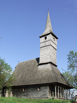 Wooden Church in Noţig