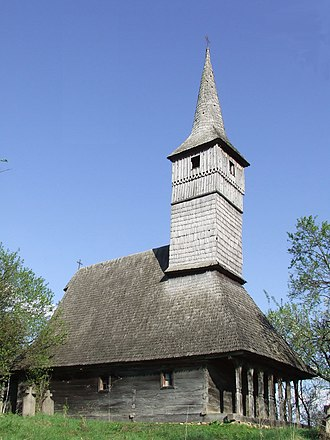 Sălățig - Wooden Church in Noţig