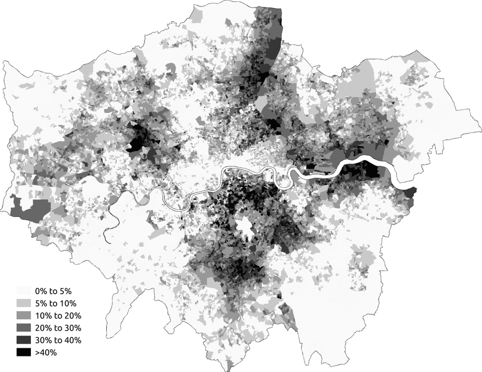 Black Greater London 2011 census