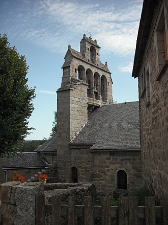 Blavignac - The church in Blavignac