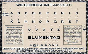 German Braille
